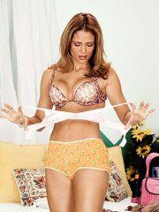 See Moniques mature natural tits