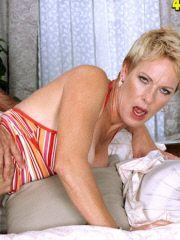 Older lady gets manhandled