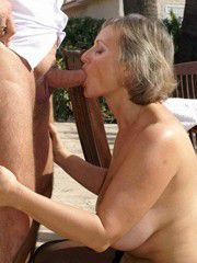 Horny old women getting sexual pleasure on this amateur photos