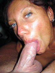 These hot mature women derive great pleasure when sucking..
