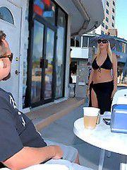 Big tits bikini milfs gets her pussy..