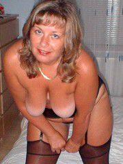 Real mature wives, grannies posing naked