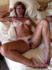 Amateur mature women show us their shaved pussies, private..