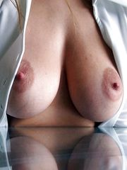 Natural huge tits and big nipples waiting adventure