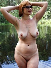 All big boobs, naked matures at home and outdoor