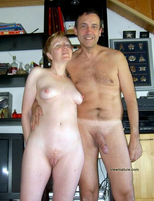 Wife poses nude for husband