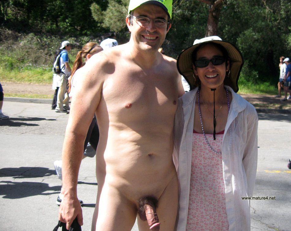 Naked moms in public