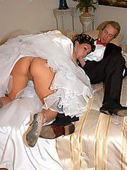 Claire Dames gets pile drived on her wedding day and a..