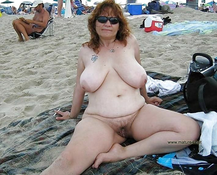 What Big old naked boobs