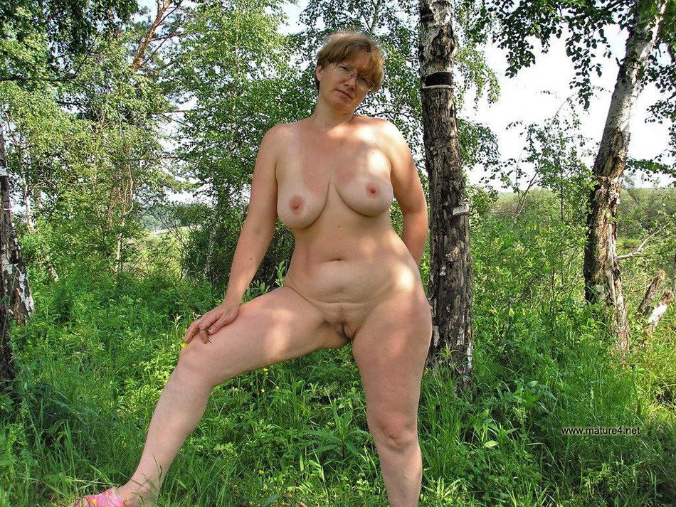 Naked granny outside pics something