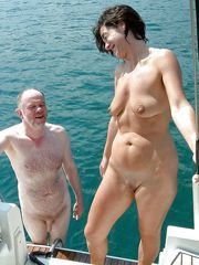 Nude granny outdoor, mature tits naked..