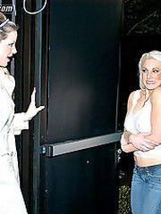 Content of Bobbi Dean - I heard a knock at the door. It..