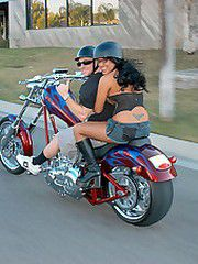 Content of Eva Angelina - On my way to the local biker bar..