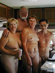 Nude family, moms and daddies naked in divers places