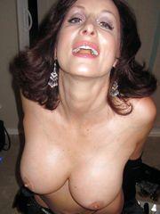 Big tits wives, mature boobs and hot ex GFs tits exposing