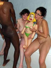 Black brothers fucking a white wives, hot interracial,..