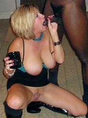 Amateur wife pressed under strong black guy, hot..