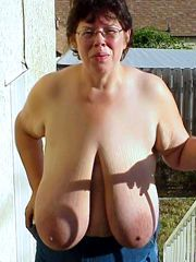 All types of mature boobs, aged ladies sucked for facial..