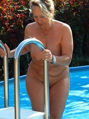 Mature housewives piddle at home, naked wives show good..