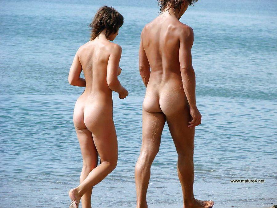 married couple nude beach