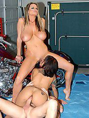 Kelly and Ryan stop by the motorcycle shop and wrench a..