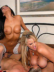 Kelly Madison isn't feeling well so she does the one thing..