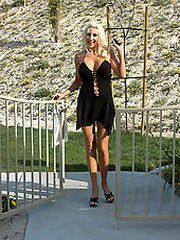 Puma Swede drops by Kelly Madison's house where she needed..