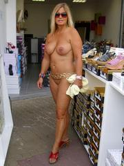 Amazing, real nude mature women and..