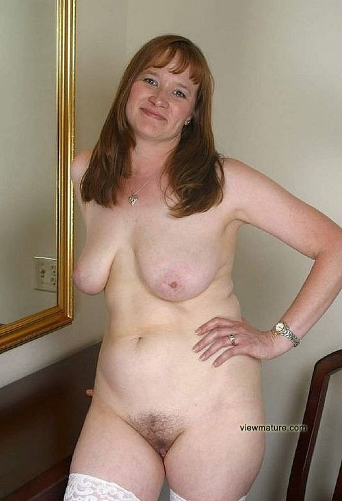 average looking naked wife