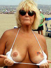 Nude moms at the beach, public nudes, public blowjob