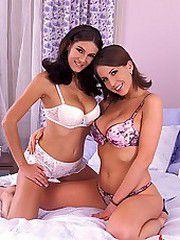 Anita & Caroline having sex