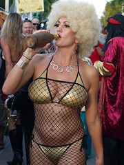 Key west fantasy fest, perfect exhibitionists and nudists