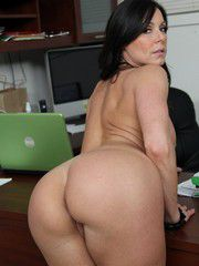 Lovely MILF Secretary Boned Hard In The Office