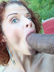 Kinky Redhead Joslyn James And Her Ebony Lover