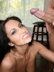 Naughty Brunette Woman Ava Addams Nailed And Cumme..