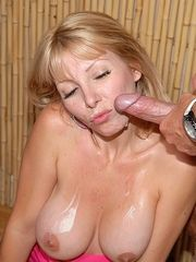 Filthy Blond Woman Veronica Face Fucked And Screwe..