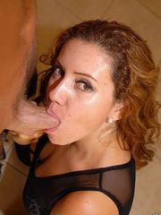 Nasty Redhead Woman Crystal Teasing And..