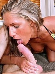 Hot And Lovely Mandi Moretti Covered With Mouthwas..