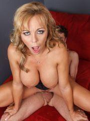 Pervert And Fake Tit Woman Boned Hard