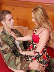 WIfey Lexi Belle Misses Her Man's Stiff Rod