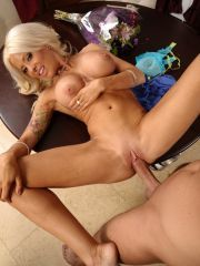 Kinky Blond Porn Star Helly Hellfire Nailed