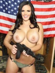 Big Ass Military Babes Covered With Thick Paste
