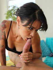 Seductive Tattooed Woman Dana Vespoli Screwed And ..