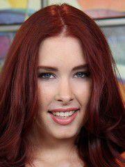 Redhead Pretty Woman Melody Jordan..