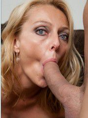 Blonde Cougar Brenda James Ride A Huge..