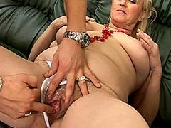 Mature moms spreading old hairy hole and riding on dick