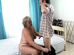 Hard dick drill hairy cunt fat blonde..