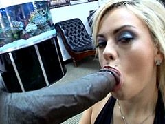 Black gigantic monster cock in hungry pussy of beautiful wife