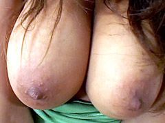 Big boobs latine wife gets strong dick in hairy pussy