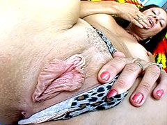 Gigantic cock banged busty hot mature for hot facial cumshot